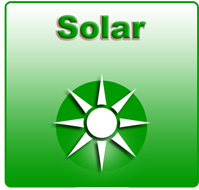 solar hot water hills district