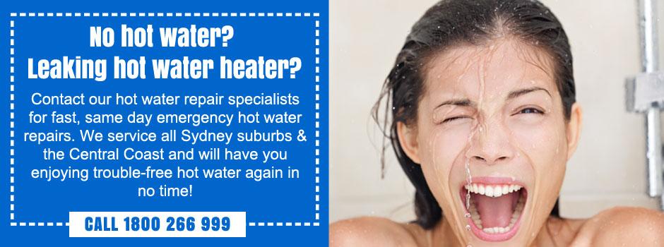 emergency hot water heater repairs hills district