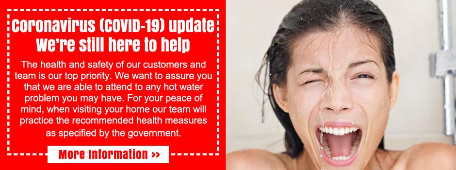 sydney hot water repairs coronavirus